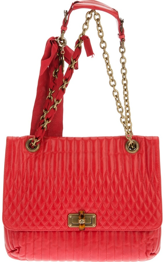 Lanvin 'Happy' quilted tote