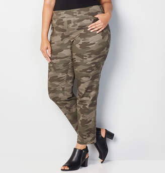 Avenue Cotton Super Stretch Camo Pant
