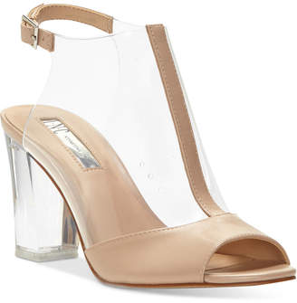INC International Concepts I.n.c. Women's Kelisin Block Heel Dress Sandals, Created for Macy's Women's Shoes