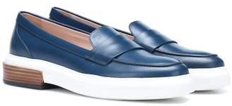 96ba9f5a11a8 Tod s Platform leather loafers