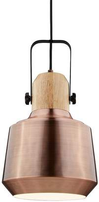 Kaleidoscope Antique Copper Pendant