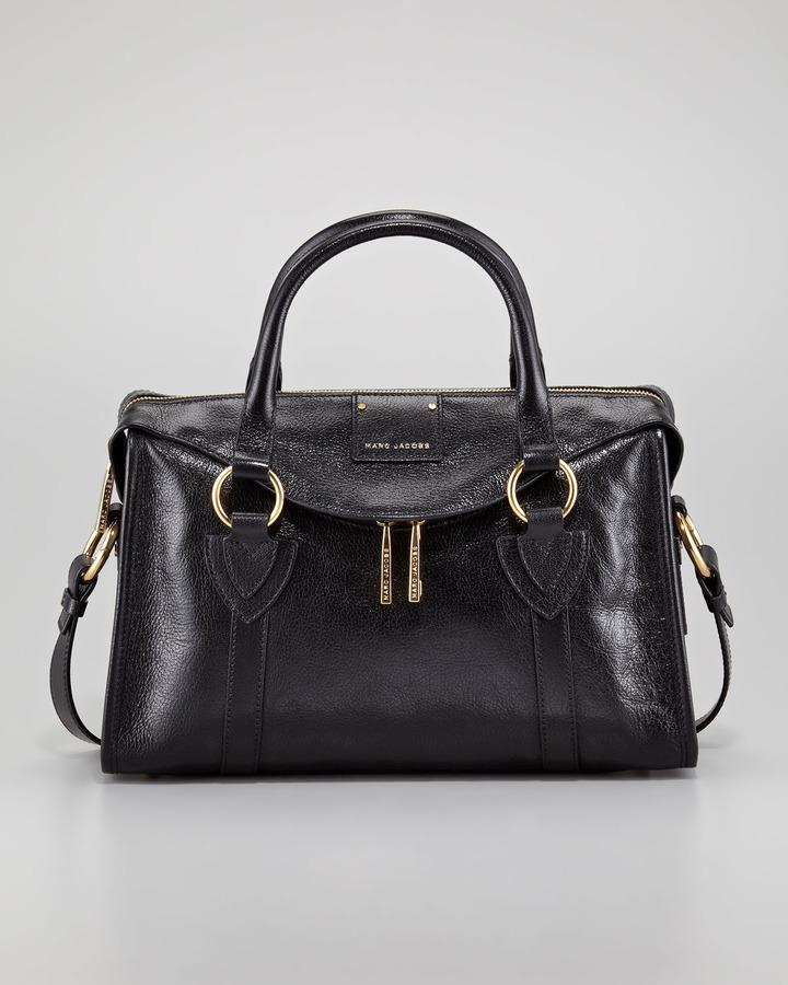 Marc Jacobs Fulton Small Top-Handle Bag, Black