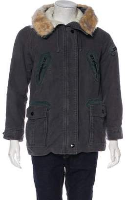 Marc Jacobs Felted Field Jacket