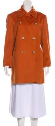 Max Mara Double-Breasted Wool Coat