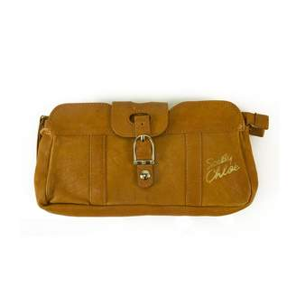 See by Chloe Leather clutch bag