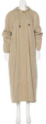 Burberry Long Hooded Coat
