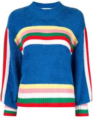 Mira Mikati striped jumper