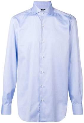 Barba point-collar shirt