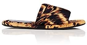 Balenciaga Women's Hotel Flat Slide Sandals-Brown