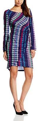 Womens Macaron Twist Wrap Long Sleeve Dress Almost Famous wgB3S0R