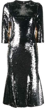 Dolce & Gabbana sequin embellished dress