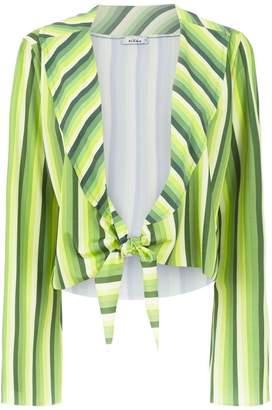 Amir Slama striped cropped top