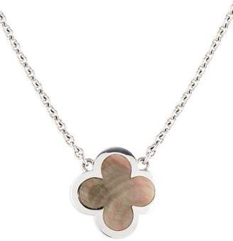 Van Cleef & Arpels Mother of Pearl Pure Alhambra Pendant Necklace