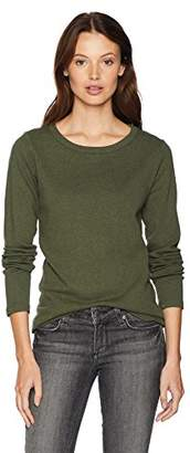 Pendleton Women's Long Sleeve Cotton Rib Crew Tee