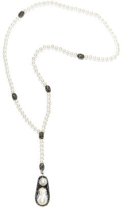 Eye Candy Los Angeles Eye Candy La Dreams In The Snow Shell Pearl And Hematite Beaded