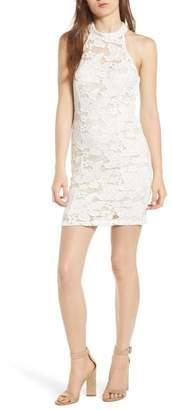 Speechless Lace Bodycon Minidress (Juniors)