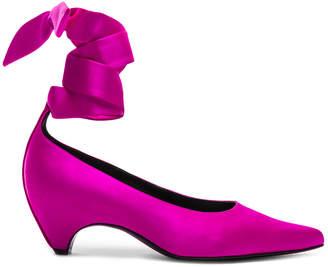 Stella McCartney Ankle Tie Keel Heels