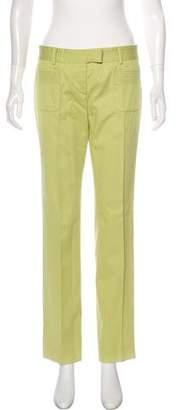Valentino Low-Rise Straight-Leg Pants
