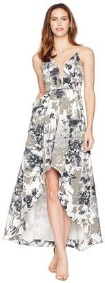 Adrianna Papell Faille Long Dress Women's Dress