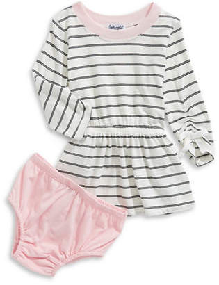 Splendid Striped Dress and Bloomers Set