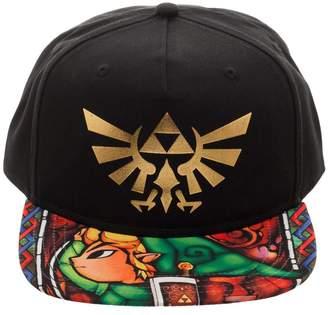 Bioworld Boy's The Legend of Zelda - Link - Youth Snapback Hat O/S