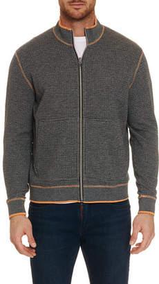 Robert Graham Men's Ando Zip-Up Sweater