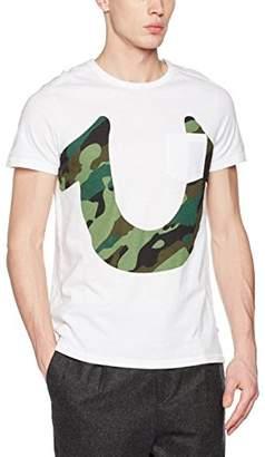 True Religion Men's Logo Camo T-Shirt