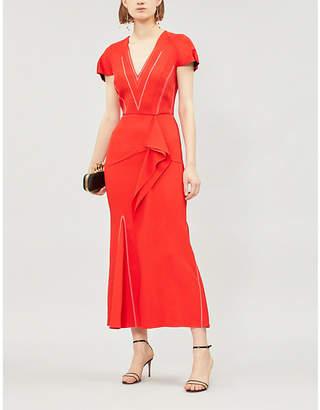 Roland Mouret Bates crepe dress