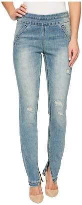 Tribal Modern Pull-On 31 Denim Jeggings in Bleach Women's Jeans