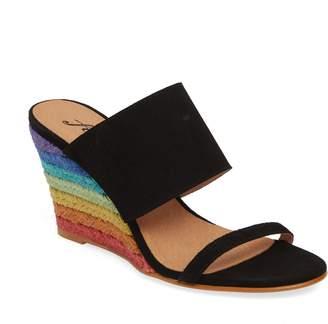 Free People Glorieta Wedge Slide Sandal