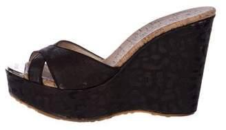 Jimmy Choo Cork Slide Sandals