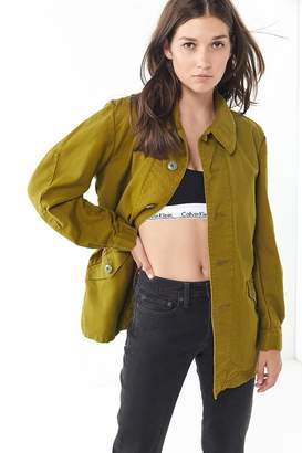 Urban Renewal Vintage Recycled Overdyed Slouchy Utility Jacket
