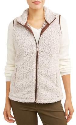 JASON MAXWELL Women's Cozy Sherpa Vest