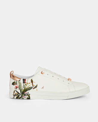 Ted Baker LIALY Printed leather trainers