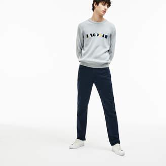 Lacoste Men's Slim Fit 5-Pocket Stretch Cotton Gabardine Pants