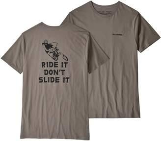 Patagonia Men's Knobby Lines Organic Cotton T-Shirt