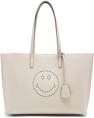 Anya Hindmarch Ebury smiley leather tote