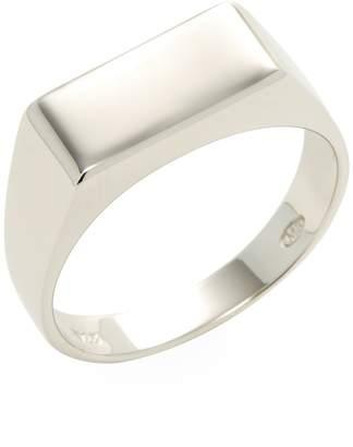 Mateo Bijoux Men's Rectangular Signet Ring