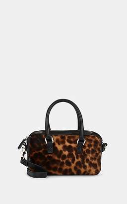 Barneys New York Women's Leather-Trimmed Calf Hair Mini Bag - Lt. brown
