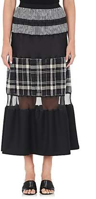 Maison Margiela Women's Flounce-Hem Maxi Skirt