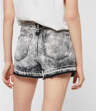 AllSaints Blake Denim Shorts