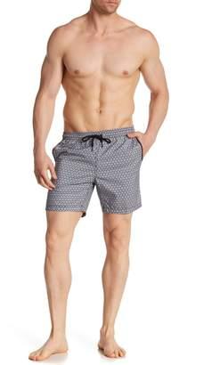 Mr.Swim Mr. Swim Triangle Interlock Board Shorts