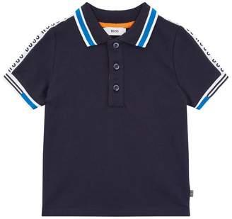 BOSS Logo Trim Polo Shirt