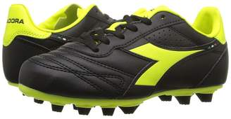 Diadora Brasil R MD PU JR Soccer Kids Shoes