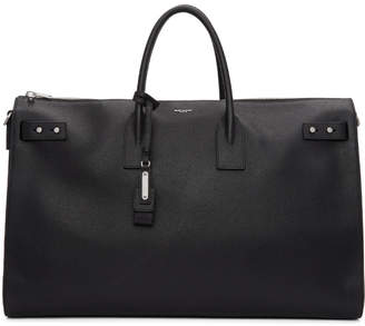 Saint Laurent Black Large Sac de Jour Duffle Bag