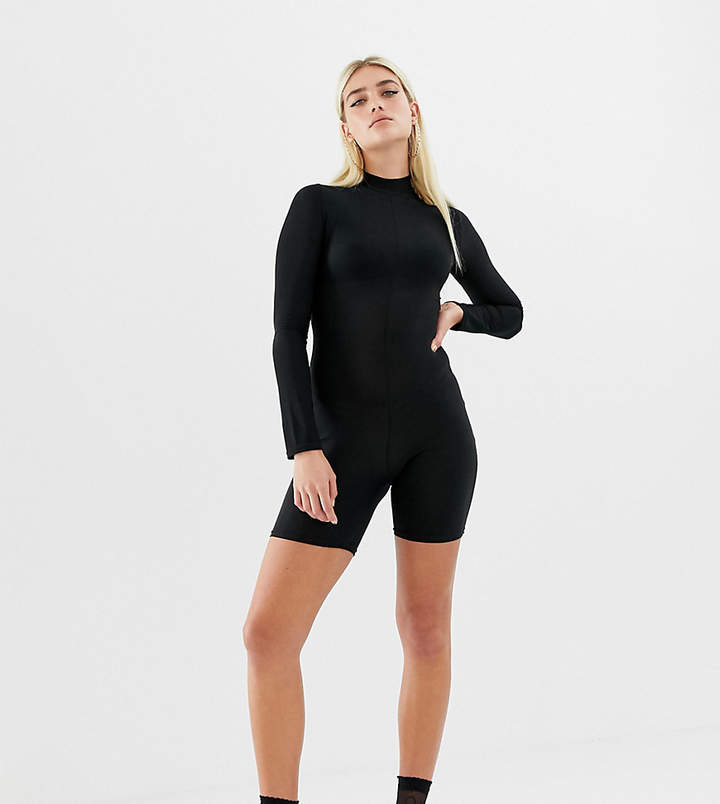 Collusion COLLUSION long sleeve slinky unitard