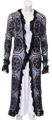 Missoni Crochet Knit Cardigan