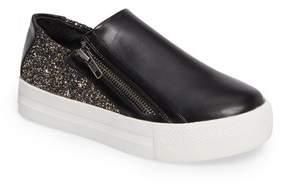 Ash Lynn Monica Glittery Zip Sneaker