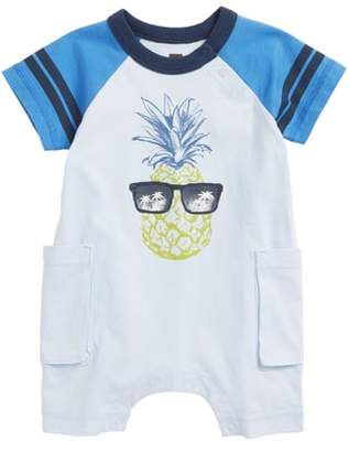 Tea Collection Pineapple Cargo Romper