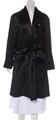Lanvin Long Sleeve Open Front Jacket